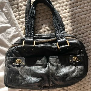 Marc by Marc Jacobs black buttery leather purse